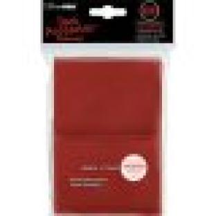Ultra Pro Standard Size 100 Ct Sleeves Red