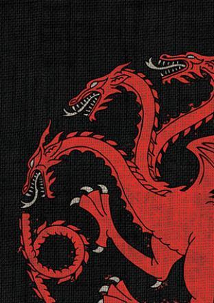 Fantasy Flight - Game of Thrones House Targaryen Sleeves 50ct