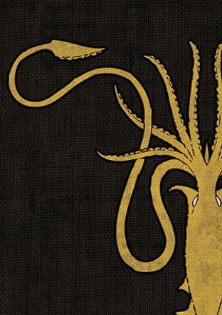 Fantasy Flight - Game of Thrones House Greyjoy Sleeves 50ct