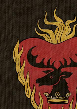 Fantasy Flight - Game of Thrones Stannis Baratheon Sleeves 50ct