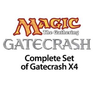 Complete Set of Gatecrash X4 With Mythic Rares