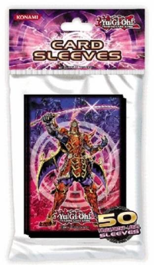 Yugioh Legendary Six Samurai Shi-En Card Sleeves - Pack of 50 by Konami