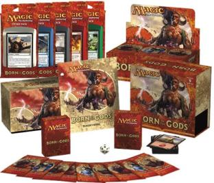 Born of the Gods Variety Pack (1 Booster Box, 1 Fat Pack, Set of 5 Intro Packs)