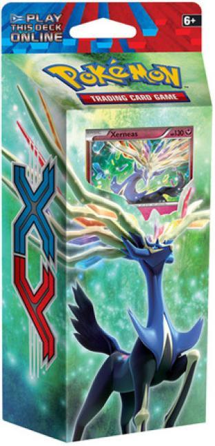 Pokemon - XY (Base Set) Resilient Life [Xerneas] Theme Deck