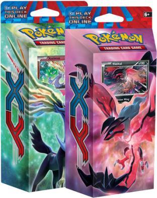 Pokemon - XY (Base Set) Theme Deck Set of 2 Decks