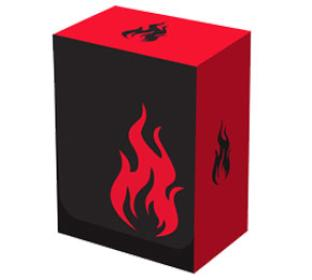 Legion Iconic Deck Box - Fire (RED)