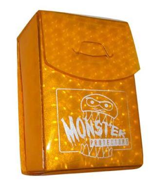 Monster Binder Deck Box - Gold