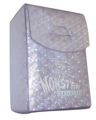 Monster Binder Deck Box - Silver
