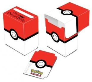 Ultra Pro Deck Box Red and White POKEMON