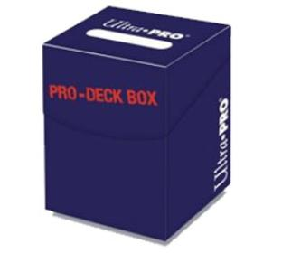 Ultra Pro - Pro-100 plus Deck Box Blue w/ Divider