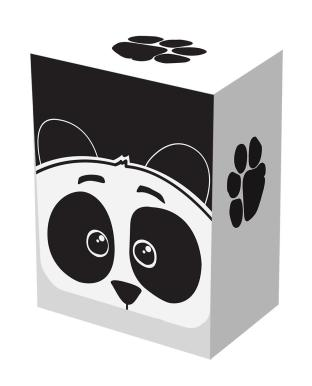 Legion Deck Box - Panda