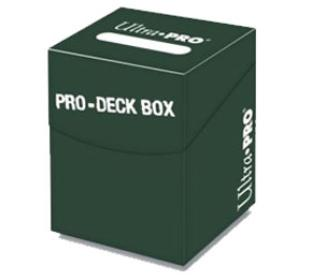 Ultra Pro - Pro-100 plus Deck Box Green w/ Divider