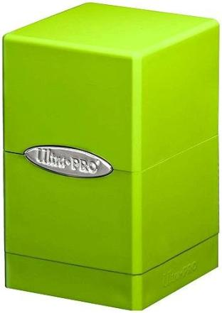 Ultra Pro- Satin Tower Deck Box Lime Green
