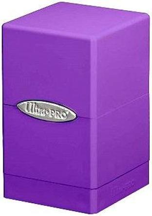 Ultra Pro - Satin Tower Deck Box Purple
