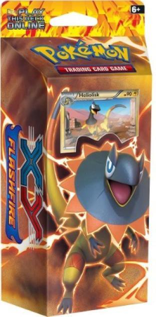 XY Flashfire Heliolisk Theme Deck