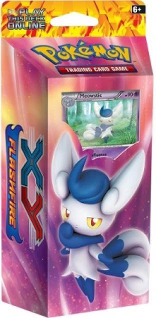 XY Flashfire Meowstic Theme Deck