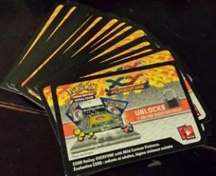 36 Pokemon TCG Online Codes - XY Flashfire