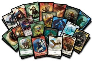 50 Magic the Gathering Assorted Creature Tokens
