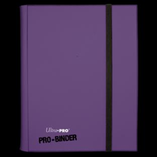 Ultra Pro Pro Binder Purple