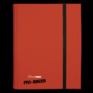 Ultra Pro Pro Binder Red