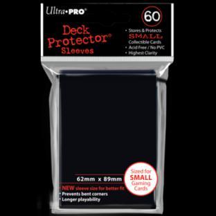 Ultra Pro Mini Card Sleeves 60 Ct Black