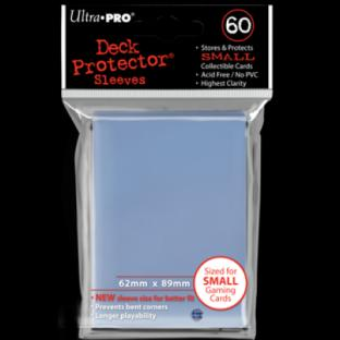 Ultra Pro Mini Card Sleeves 60 Ct Clear