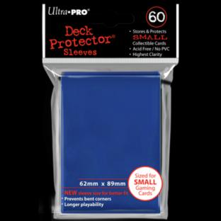 Ultra Pro Mini Card Sleeves 60 Ct Dark Blue