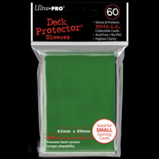 Ultra Pro Mini Card Sleeves 60 Ct Green