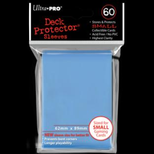 Ultra Pro Mini Card Sleeves 60 Ct Light Blue