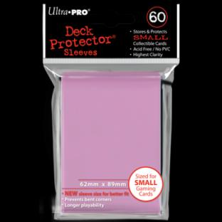 Ultra Pro Mini Card Sleeves 60 Ct Pink