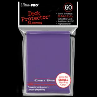 Ultra Pro Mini Card Sleeves 60 Ct Purple