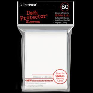 Ultra Pro Mini Card Sleeves 60 Ct White