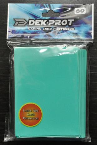 Dek-Prot Sleeves - Magic Size - 60 Count - Seafoam Green