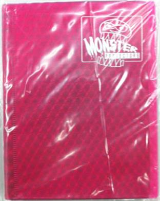 4-Pocket Monster Binder - Pink