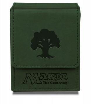 Magic Mana Flip Box - Galaxy Green- Ultra Pro
