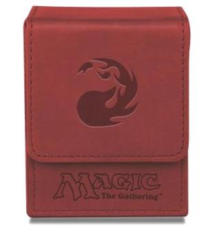 Magic Mana Flip Box - Galaxy Red - Ultra Pro
