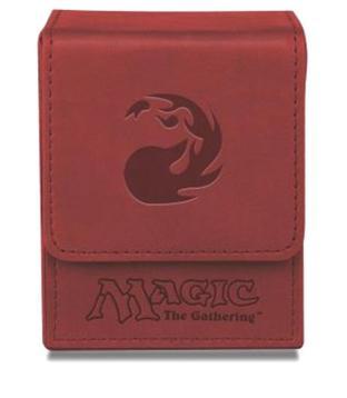 Magic Mana Flip Box - Galaxy Red - Ultra Pro