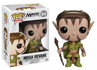 Funko Pop Games - Magic The Gathering - Nissa Revane Vinyl Figure