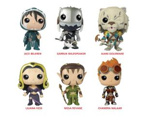 Funko Pop Games - Magic The Gathering - Set of Six Vinyl Figures