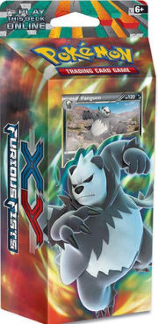 XY Furious Fists (XY3) Pangoro Theme Deck