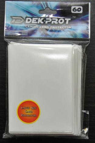 Dek-Prot Sleeves - Magic Size - 60 Count - Starlight White