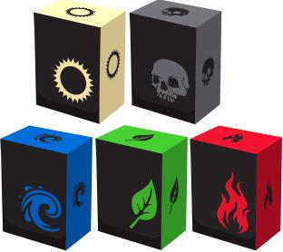 Legion Iconic Deck Boxes: Set of 5