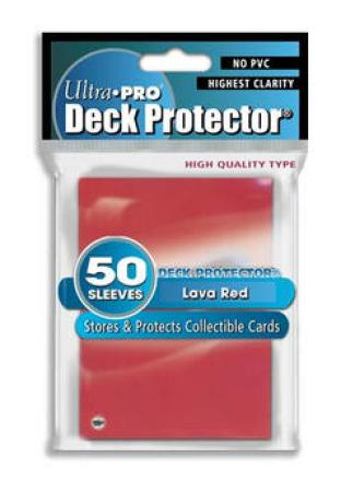 Ultra Pro Sleeves Red
