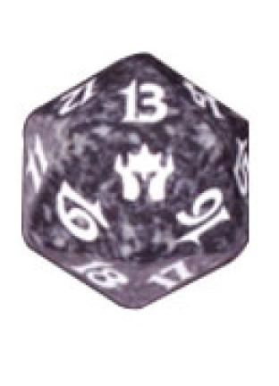 Fifth Dawn Black Spindown Die