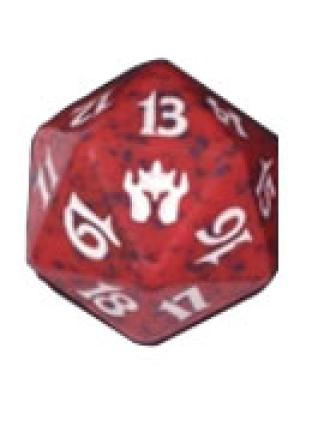 Fifth Dawn Red Spindown Die