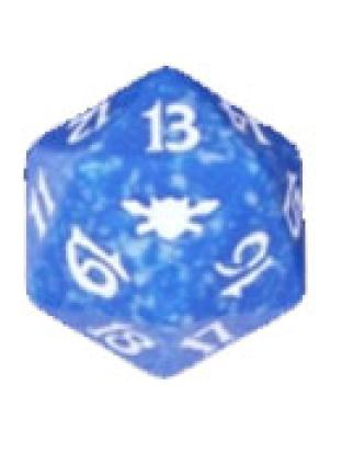 Legions Blue Spindown Die