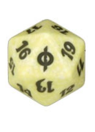 New Phyrexia White Spindown Die