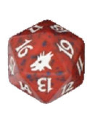 Scourge Red Spindown Die