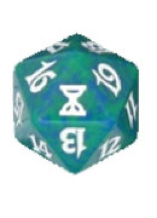 Time Spiral Green Spindown Die