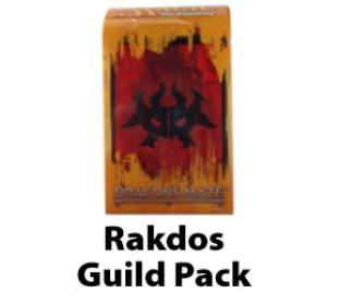 Dragon's Maze Guild Pack - Rakdos